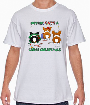 Nothin' Butt A Pembroke Welsh Corgi Christmas Shirts - More Styles and Colors Available