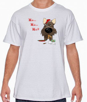 Dark Cairn Terrier Santa's Cookies Shirts - More Styles and Colors Available