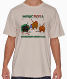 Nothin' Butt A Dachshund Christmas Tshirt
