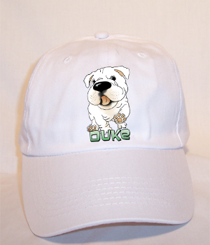 Custom Duke Budget Cap - White