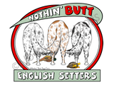 Nothin' Butt English Setters Light Colored T-shirts