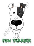 Big Nose Smooth Fox Terrier Dark Colored T-shirts