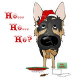 German Shepherd Santa's Cookies Shirts - More Styles and Colors Available