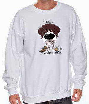 gsp i hunt white sweatshirt