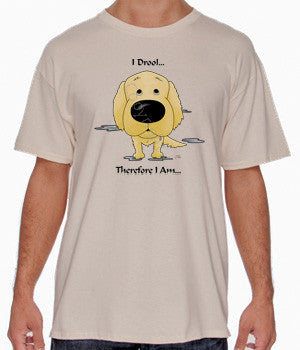 I Drool Golden Retriever Shirts - More Styles and Colors Available