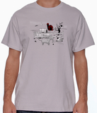 Gothic Staffordshire Bull Terrier Barn Hunt Shirts - More Styles and Colors Available