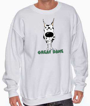 Big Nose Great Dane (Harlequin) Shirts - More Styles and Colors Available