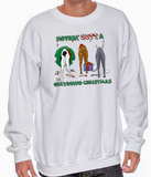 Nothin' Butt A Greyhound Christmas Sweatshirt