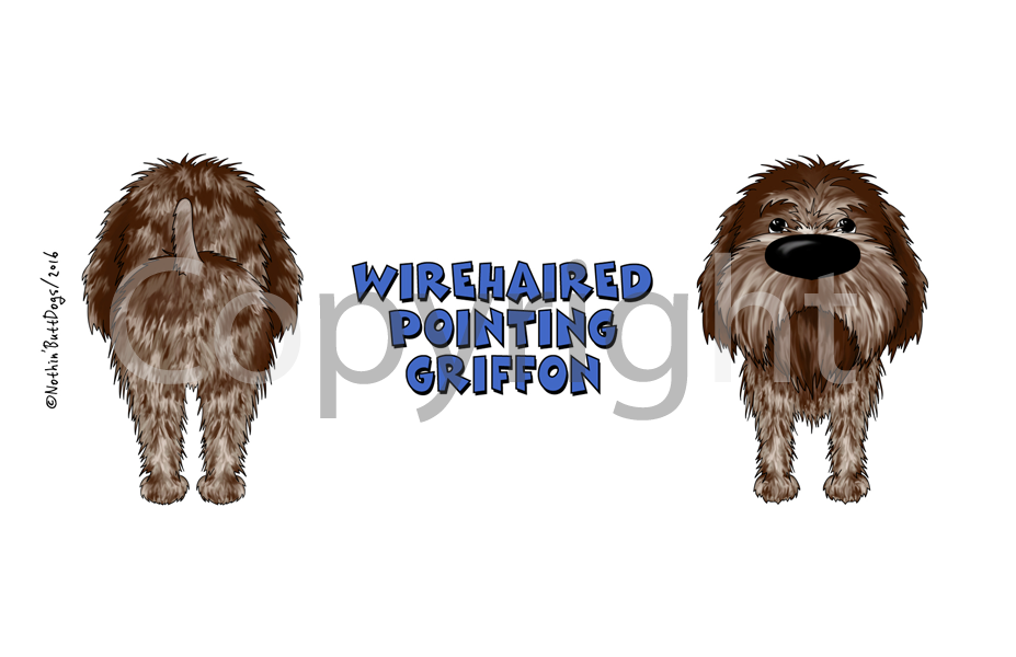 Big Nose Wirehaired Pointing Griffon 11 oz Coffee Mug