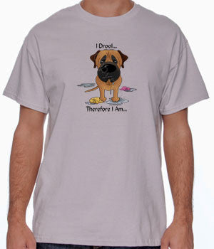 I Drool Mastiff (Apricot) Shirts - More Styles and Colors Available