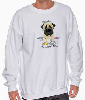 I Drool Mastiff (Fawn) Shirts - More Styles and Colors Available