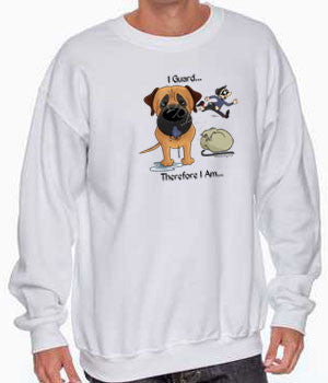 I Guard Mastiff (Apricot) Shirts - More Styles and Colors Available