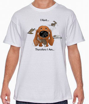 Red Dachshund (I Hunt) Shirts - More Styles and Colors Available