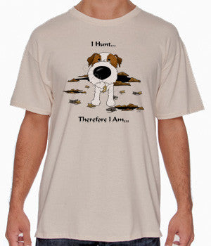 I Hunt Wire Haired Jack Russell Terrier Shirts - More Styles and Colors Available