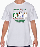 Nothin' Butt A Jack Russell Terrier Christmas Tshirt