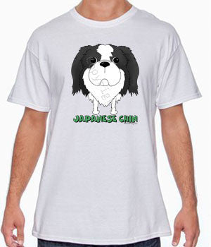 Big Nose Japanese Chin Shirts - More Styles and Colors Available