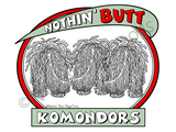 Nothin' Butt Komondors Dark Colored T-shirts