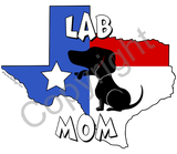 Texas Mom Tshirt Natural Colored (5 Breeds Available)