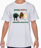 Nothin' Butt A Labrador Retriever Christmas Tshirt