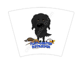 Flat-Coated Retriever Hunting 17oz Latte Mug