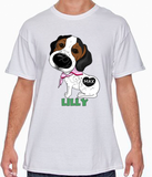 Custom Lilly Tshirt - More Colors Available