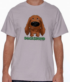 Long Haired Dachshund (Big Nose) Shirts - More Styles and Colors Available