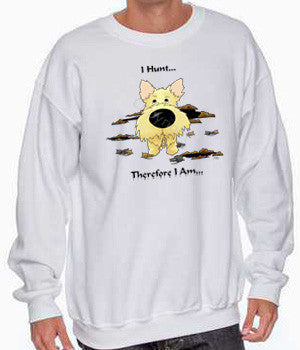 I Hunt Wheaten Cairn Terrier Shirts - More Styles and Colors Available