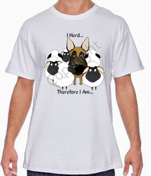 I Herd Malinois T-shirts - More Colors and Styles Available