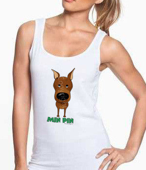 Big Nose Min Pin Shirts - More Styles and Colors Available