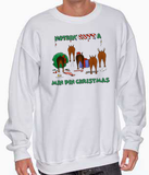 Nothin' Butt A Miniature Pinscher Christmas Sweatshirt