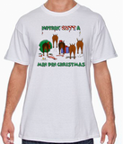 Nothin' Butt A Miniature Pinscher Christmas Tshirt