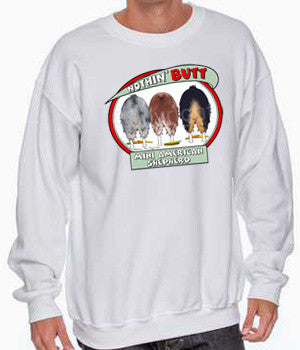 nothin' butt mini american shepherd sweatshirt