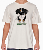 Big Nose Bernese Mt Dog Natural T-shirt