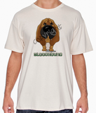 Big Nose Bloodhound Natural T-shirt