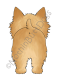 Big Nose Norwich Terrier Light Colored T-shirts