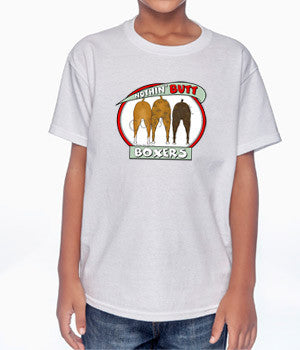 Nothin' Butt  Boxers Youth T-shirts - More Colors Available
