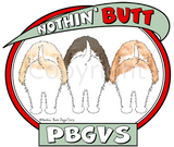 Nothin' Butt PBGVs T-shirts - More Colors Available