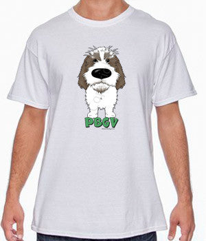 Big Nose PBGV (Gray) T-shirts - More Colors Available