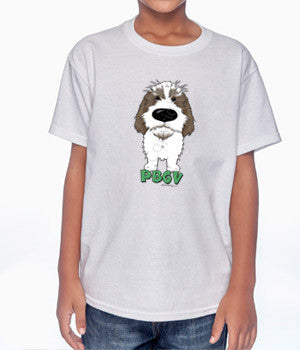 Big Nose PBGV (Gray) Youth T-shirts - More Colors Available