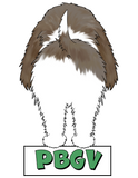 PBGV Butt Magnet - More Colors Available