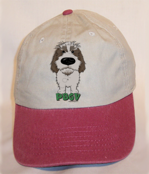 Big Nose PBGV Cap - More Colors Available