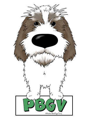 Big Nose PBGV Sticker - More Colors Available