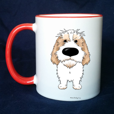 Big Nose PBGV 11 oz Mug - More Colors Available