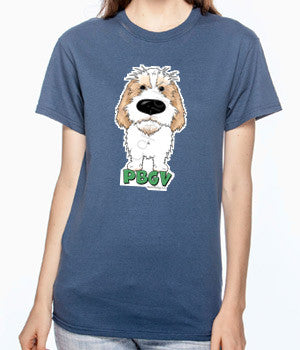 Big Nose PBGV (Lemon) T-shirts - More Colors Available