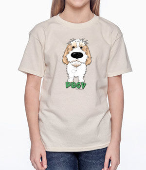 Big Nose PBGV (Lemon) Youth T-shirts - More Colors Available