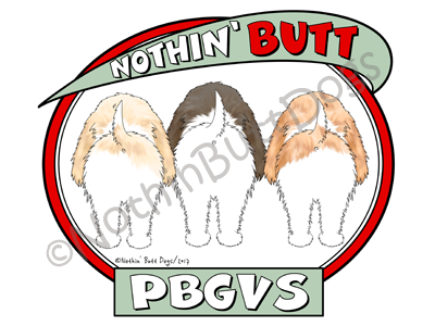 Nothin' Butt PBGVs Dark Colored T-shirts