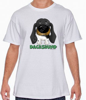 Piebald Dachshund (Big Nose) Shirts - More Colors Available