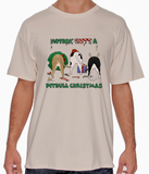 Nothin' Butt A Pitbull Christmas Tshirt