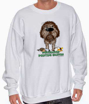 Big Nose Wirehaired Pointing Griffon Shirts - More Styles and Colors Available