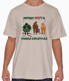 Nothin' Butt A Poodle Christmas Tshirt